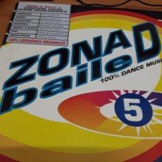 Disques de vinyle: ZONA D BAILE 5. Lote 232208535