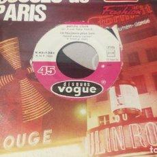 Discos de vinilo: PETULA CLARK , LES INCORRUPTIBLES Y VA TOJOURS PLUS LOIN, DISQUES VOQUE 1965 PROD. TONY HATCH. Lote 232210420