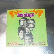 Discos de vinilo: LOS SIREX ---- JUDY CON DISFRAZ ---HAY UNA MONTAÑA -- VINILO MINT ( M ) FUNDA VG +. Lote 232216785