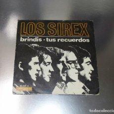 Discos de vinilo: LOS SIREX ----- BRINDIS & TUS RECUERDOS - VINILO NEAR MINT ---FUNDA VG ++. Lote 232217245