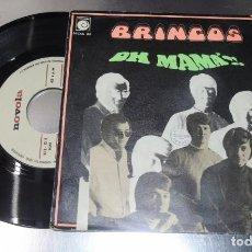 Discos de vinilo: LOS BRINCOS --- OH MAMA & LA FUENTE --EDICION 1969 ---VERY GOOD PLUS ( VG+). Lote 232218650
