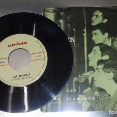 Discos de vinilo: LOS BRINCOS --- FLAMENCO & CRY VINILO MINT ( M ) FUNDA VG+. Lote 232219875