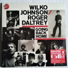 "Discos de vinilo: WILKO JOHNSON / ROGER DALTREY - "" GOING BACK HOME "" LP 2014 EU LIMITED EDITION SEALED. Lote 232233220"