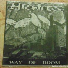 Discos de vinil: HIATUS – WAY OF DOOM - EP 1991 - HARDCORE. Lote 232247305