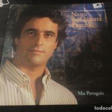 Discos de vinilo: NUNO DA CAMARA PEREIRA - MAR PORTUGUES / FADO - LP - EMI 1986 FADOS PORTUGAL BUEN ESTADO. Lote 232251685