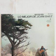 Discos de vinilo: LO MEJOR DE JOAN BAEZ. LP EDICIÓN ESPECIAL DISCOLIBRO.. Lote 232267775