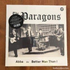 Discos de vinilo: PARAGONS - ABBA (1967) - SINGLE REEDICIÓN ALTERCAT 2020 NUEVO. Lote 245384070