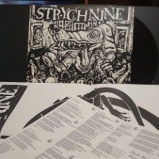 Discos de vinilo: STRYCHNINE ‎– DEAD RATS AND OAKLAND DOGS EAST BAY MENACE ‎– EBM004 LP USA 2000 PEPETO. Lote 232300325