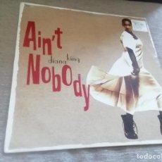 Discos de vinilo: DIANA KING - AIN'T NOBODY. MAXI. Lote 232301845