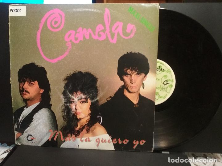 CAMELA ( MAS LA QUIERO YO) MAXI 1994 PEPETO (Música - Discos de Vinilo - Maxi Singles - Flamenco, Canción española y Cuplé)