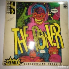 Discos de vinilo: MAXI SINGLE THE POWER - REMIX - INTRODUCING TURBO B. Lote 232325935