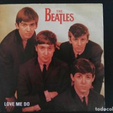 Discos de vinilo: THE BEATLES - LOVE ME DO / P.S. I LOVE YOU / SINGLE ODEON DE 1982 PROMOCIONAL NUNCA ESTRENADO. Lote 232329110