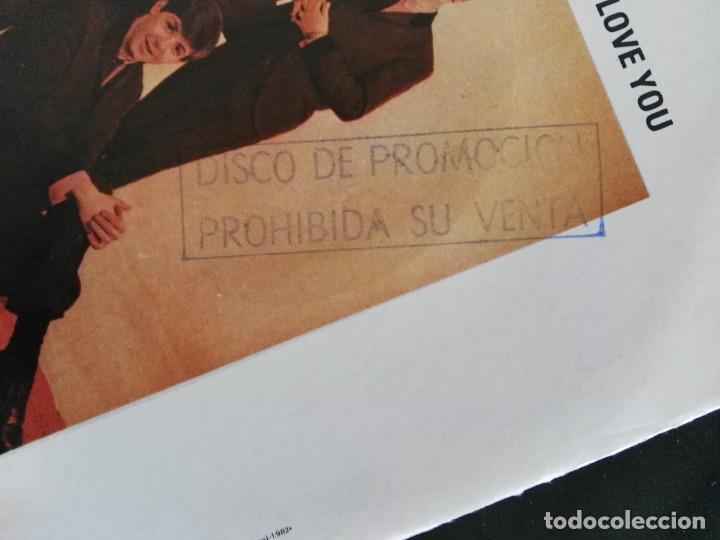 Discos de vinilo: THE BEATLES - LOVE ME DO / P.S. I LOVE YOU / SINGLE ODEON DE 1982 PROMOCIONAL NUNCA ESTRENADO - Foto 3 - 232329110