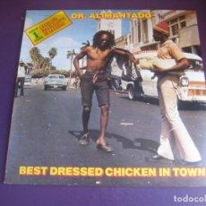 Dischi in vinile: DR. ALIMANTADO – BEST DRESSED CHICKEN IN TOWN - LP EDIGSA 1980 - REGGAE DUB 80'S - SIN ESTRENAR. Lote 232333770