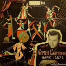 Disques de vinyle: GRAN CARUSO - MARIO LANZA. Lote 232337635