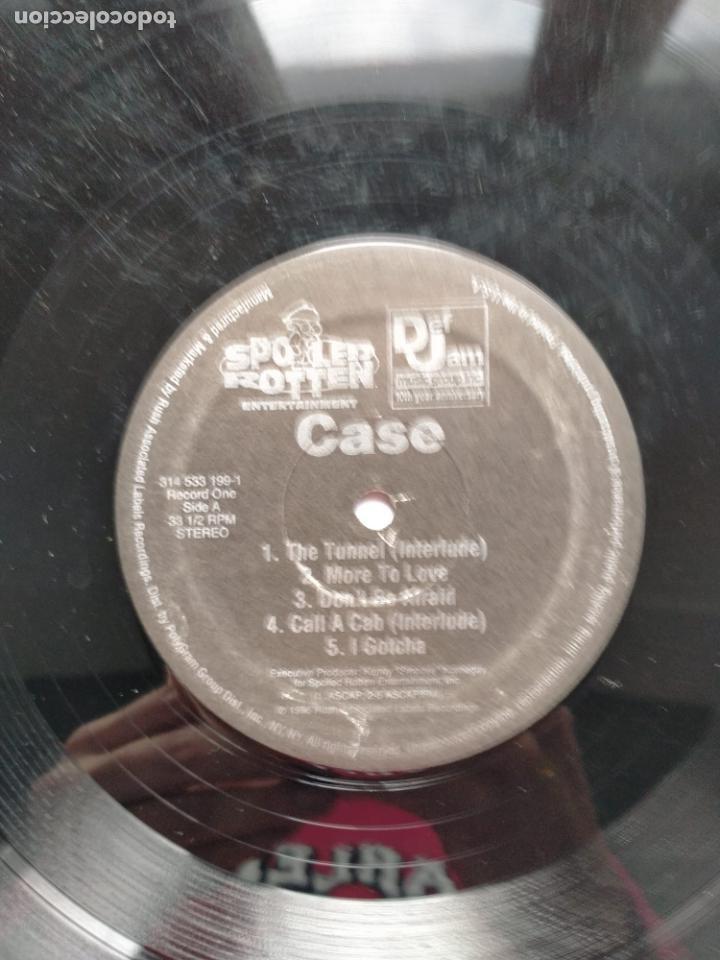 Discos de vinilo: Case - Case - 2XLP DEF JAM RECORDS 1996 - LOS DOS VINILOS , SIN PORTADA - Foto 2 - 202498646
