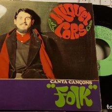 Discos de vinilo: MIQUEL CORS - CANTA CANÇONS FOLK. Lote 232349295