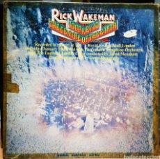 Discos de vinilo: RICK WAKEMAN - JOURNEY TO THE CENTRE OF THE EARTH. Lote 232353645