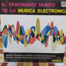 Discos de vinilo: TOM DISSEVELTYKID BALTAN -EL FASCINANTE MUNDO DE LA MÚSICA ELECTRÓNICA - LP VINILO PRECINTADO. Lote 232363040
