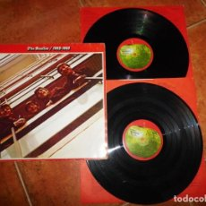 Discos de vinilo: THE BEATLES 1962-1966 DOBLE LP VINILO DEL AÑO 1973 ESPAÑA GATEFOLD ENCARTES CONTIENE 26 TEMAS 2 LP. Lote 232363995