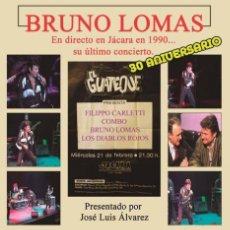 """Disques de vinyle: LP """"BRUNO LOMAS EN DIRECTO"""" JACARA 1990 - SU ULTIMO CONCIERTO.. Lote 232365260"""