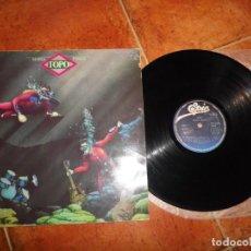 Discos de vinilo: TOPO MAREA NEGRA LP VINILO DEL AÑO 1992 CARLOS NAREA MIGUEL RIOS TIENE 9 TEMAS LELE LAINA MUY RARO. Lote 232367835