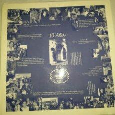 Discos de vinilo: 10 AÑOS EN IMPACTO MADRID . MAXI SINGLE PROMOCIONAL NUNCA A LA VENTA. Lote 232391815