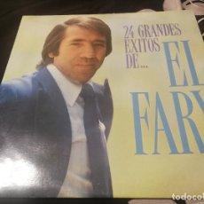 Discos de vinilo: EL FARY - 24 GRANDES ÉXITOS LP FONOMUSIC DE 1992 DOBLE LP. Lote 232406820