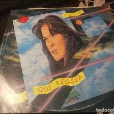 Discos de vinilo: LUCIA QUE BELLEZA - ITALY MAXI SINGLE. Lote 232408075