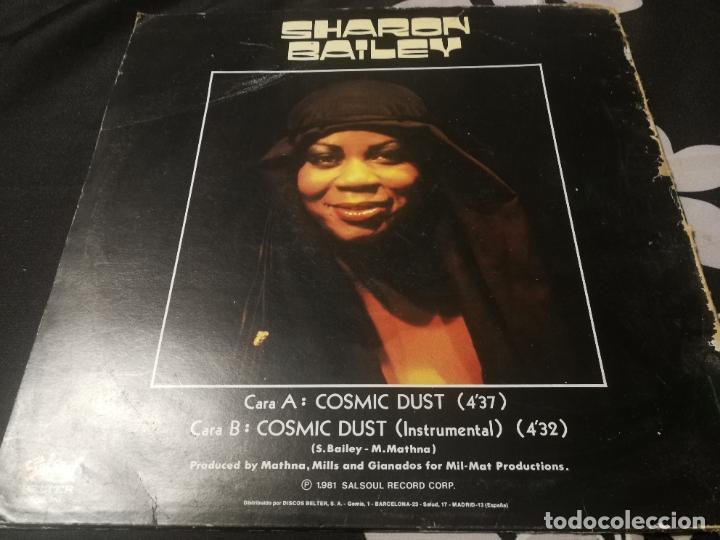 Discos de vinilo: SHARON BAILEY - COSMIC DUST MAXI SALSOUL BELTER - 1981 - Foto 2 - 232408200