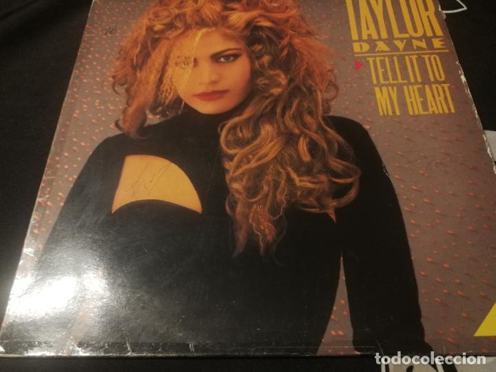 ANTIGUO VINILO / OLD VINYL : TAYLOR DAYNE : TELL IT TO MY HEART (MAXI SINGLE 1987) (Música - Discos de Vinilo - Maxi Singles - Disco y Dance)