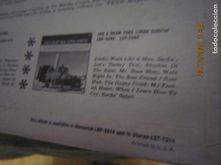 Discos de vinilo: JAN & DEAN - SURF CITY LP - ORIGINAL U.S.A. - LIBERTY RECORDS 1964 - !!!STEREO!!! - - Foto 3 - 232424735