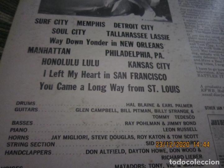 Discos de vinilo: JAN & DEAN - SURF CITY LP - ORIGINAL U.S.A. - LIBERTY RECORDS 1964 - !!!STEREO!!! - - Foto 4 - 232424735