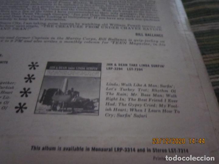 Discos de vinilo: JAN & DEAN - SURF CITY LP - ORIGINAL U.S.A. - LIBERTY RECORDS 1964 - !!!STEREO!!! - - Foto 5 - 232424735