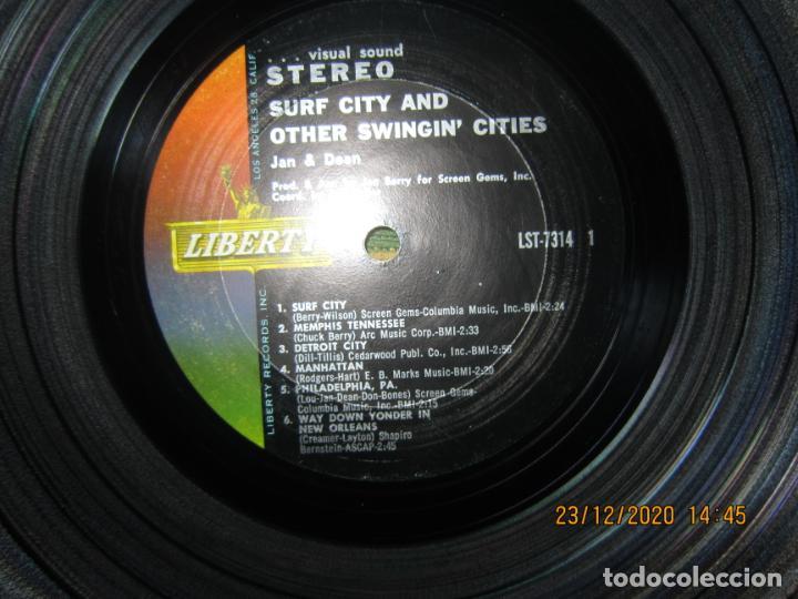 Discos de vinilo: JAN & DEAN - SURF CITY LP - ORIGINAL U.S.A. - LIBERTY RECORDS 1964 - !!!STEREO!!! - - Foto 8 - 232424735