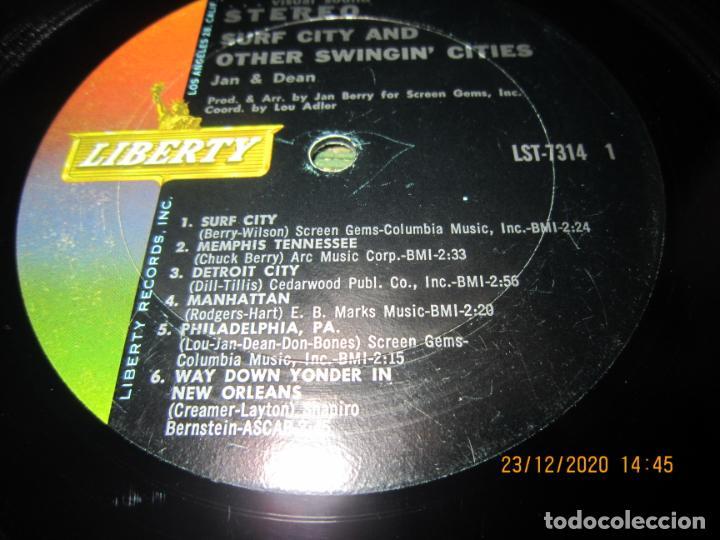 Discos de vinilo: JAN & DEAN - SURF CITY LP - ORIGINAL U.S.A. - LIBERTY RECORDS 1964 - !!!STEREO!!! - - Foto 9 - 232424735