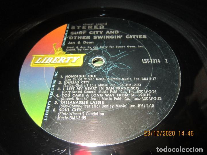 Discos de vinilo: JAN & DEAN - SURF CITY LP - ORIGINAL U.S.A. - LIBERTY RECORDS 1964 - !!!STEREO!!! - - Foto 12 - 232424735