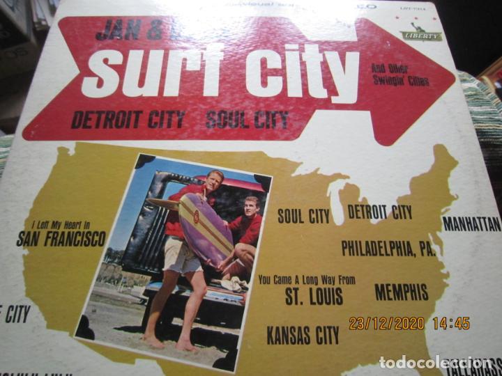 Discos de vinilo: JAN & DEAN - SURF CITY LP - ORIGINAL U.S.A. - LIBERTY RECORDS 1964 - !!!STEREO!!! - - Foto 15 - 232424735