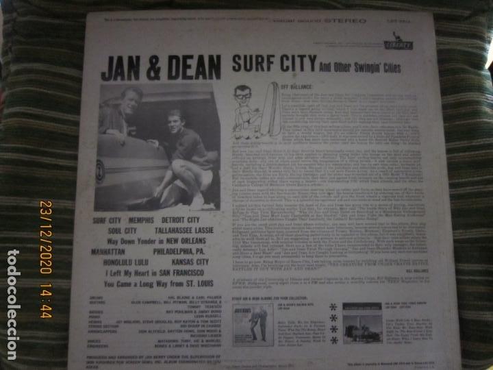 Discos de vinilo: JAN & DEAN - SURF CITY LP - ORIGINAL U.S.A. - LIBERTY RECORDS 1964 - !!!STEREO!!! - - Foto 16 - 232424735