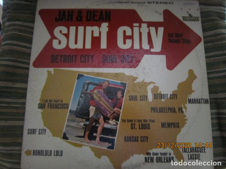 Discos de vinilo: JAN & DEAN - SURF CITY LP - ORIGINAL U.S.A. - LIBERTY RECORDS 1964 - !!!STEREO!!! - - Foto 17 - 232424735