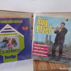Discos de vinilo: ¡¡ ALBUM DE EPOCA : DISCOS SINGLES. AÑOS 1960. !!. Lote 232429495