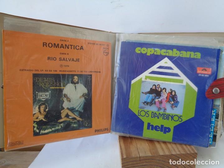 Discos de vinilo: ¡¡ ALBUM DE EPOCA : DISCOS SINGLES. AÑOS 1960. !! - Foto 9 - 232429495