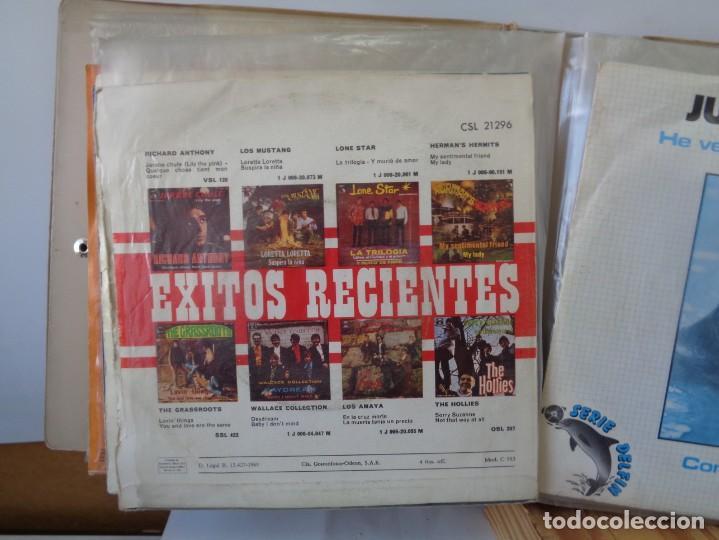 Discos de vinilo: ¡¡ ALBUM DE EPOCA : DISCOS SINGLES. AÑOS 1960. !! - Foto 12 - 232429495