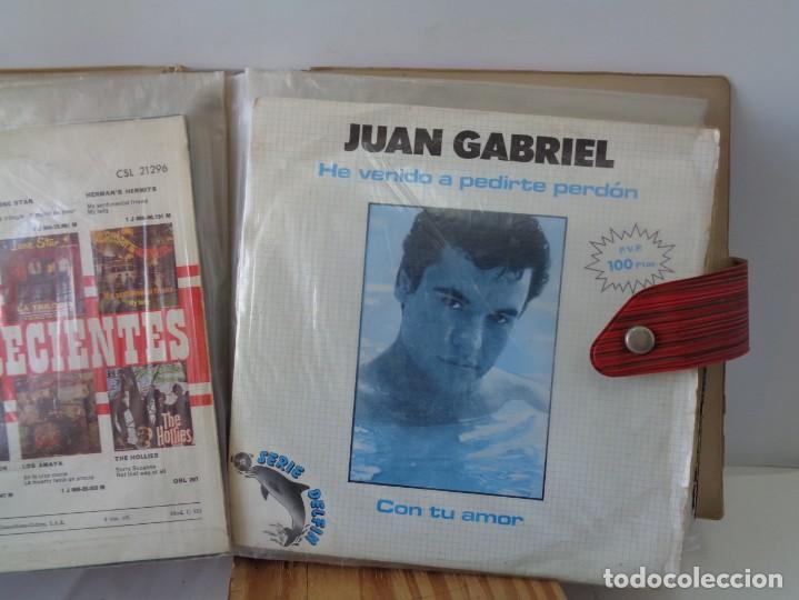Discos de vinilo: ¡¡ ALBUM DE EPOCA : DISCOS SINGLES. AÑOS 1960. !! - Foto 13 - 232429495