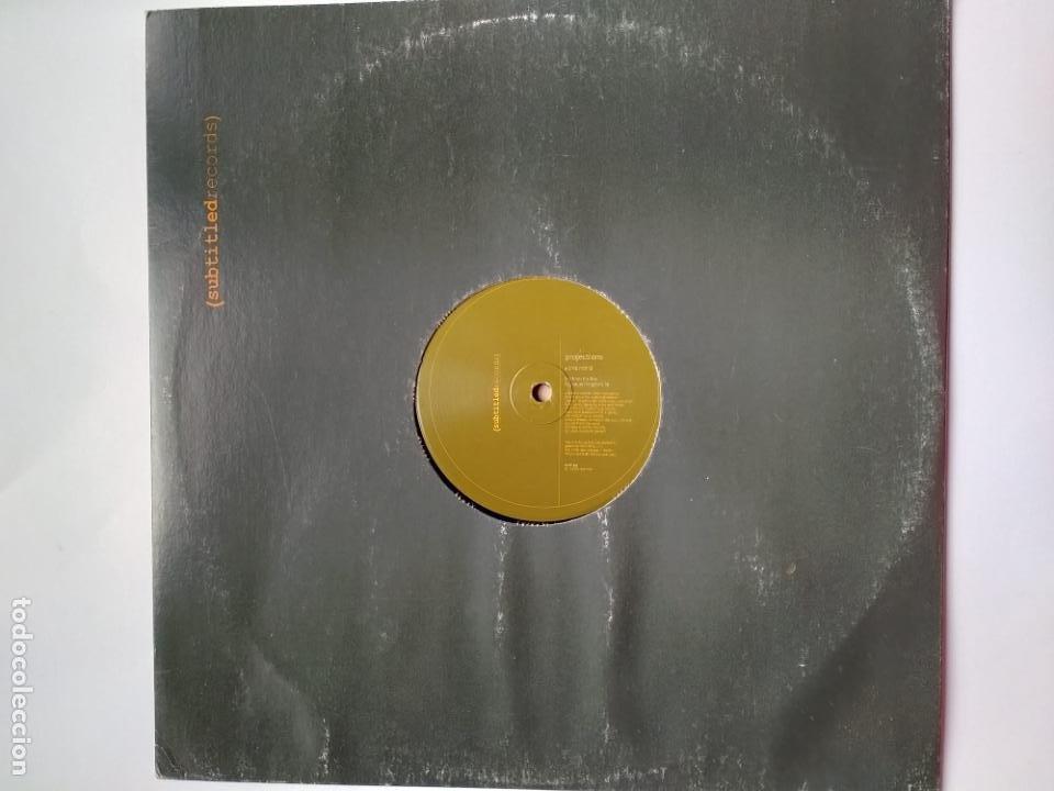 PROJECTIONS - HLD MI HND - SUBTITLED RECORDS USA 2000 - TRIP HOP - DOWNTEMPO (Música - Discos de Vinilo - Maxi Singles - Electrónica, Avantgarde y Experimental)