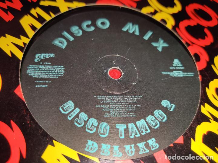Discos de vinilo: DISCO MIX Tango 2 deluxe/Son Deluxe 12 MX 1980 Sona ECUADOR LATIN - Foto 2 - 232450660