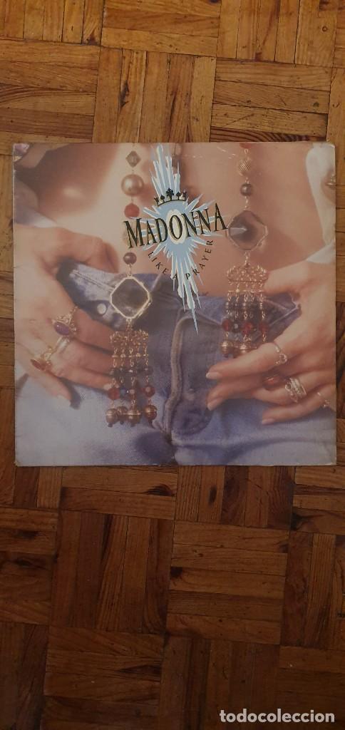 MADONNA – LIKE A PRAYER LABEL: SIRE – WX 239, SIRE – 925 844-1 FORMAT: VINYL, LP, ALBUM + (Música - Discos - LP Vinilo - Pop - Rock - New Wave Extranjero de los 80)