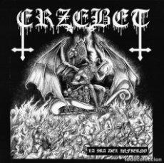 Discos de vinilo: ERZEBET - LA IRA DEL INFIERNO - 7'' EP [WEREWOLF RECORDS, 2020 · LIM. 500] BLACK METAL. Lote 232525975
