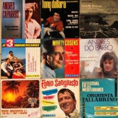 Discos de vinilo: LOTE 9 SINGLES, E.P BELTER. Lote 232535740