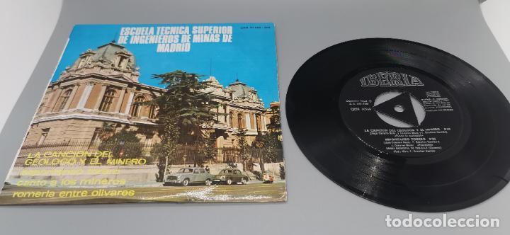 RARISIMO EP CANCION DEL GEOLOGO MINERO POR BANDA MUNICIPAL DE TRUJILLO AÑO 1967 (Música - Discos de Vinilo - EPs - Otros estilos)